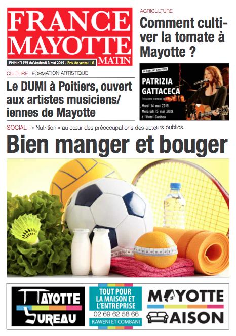 France Mayotte Vendredi 3 mai 2019