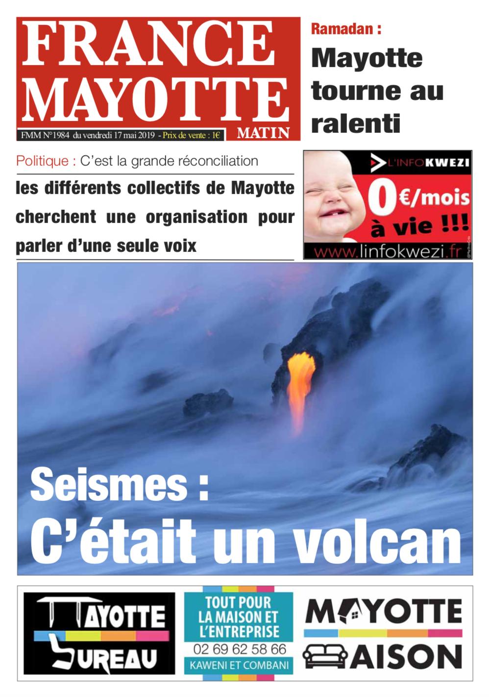 France Mayotte Vendredi 17 mai 2019