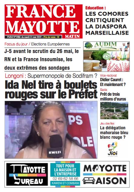 France Mayotte Mardi 21 mai 2019