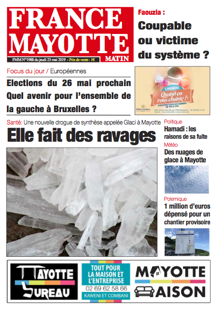 France Mayotte Jeudi 23 mai 2019
