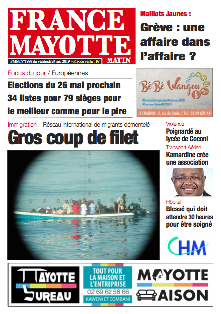 France Mayotte Vendredi 24 mai 2019
