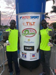 Le coureur Lomway Kalipus remporte la course des 10 kilomètres de Mamoudzou