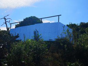 Démolition de banga à Mtsamoudou