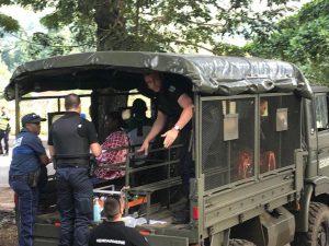 Opération de lutte contre l'immigration clandestine en cours à Tsararano