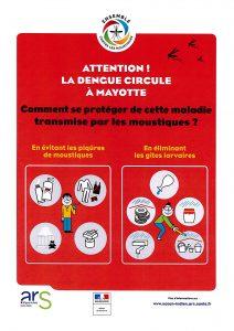 17 nouveaux cas de dengue signalés à l'ARS Océan indien