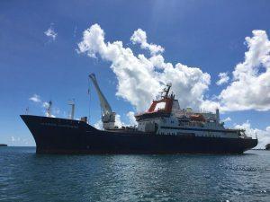 Volcan : le Marion-Dufresne reprend la mer aujourd'hui