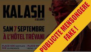 Le rappeur Kalash ne sera pas à Mayotte le 7 septembre prochain