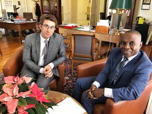 Le sénateur Thani rencontre le recteur de Mayotte
