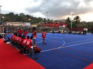 Le BCM de M'tsapéré joue à Passamainty sur le nouveau plateau sportif