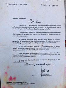 Pièce d'archives : La piste longue en 2001 déjà le Président Chirac l'annonçait