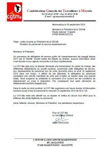 DSP assainissement du SIEAM : la CGT-Ma s'en mêle