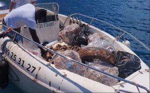 La Réserve Naturelle Nationale de l'îlot M'Bouzi : les bénévoles ont ramassé les déchets