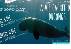 Des soirées ludiques pour sensibiliser les usagers du lagon sur les dugongs