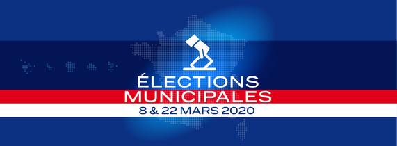 Elections municipales 2020 - 8 et 22 mars 2020 (Dates  confirmer)