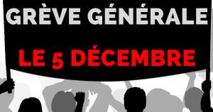Front social : une intersyndicale pour faire grève le 5 décembre