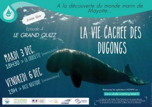 Le grand quizz des dugongs : un vrai succès pour le Parc Marin qui va renouveler l'exercice