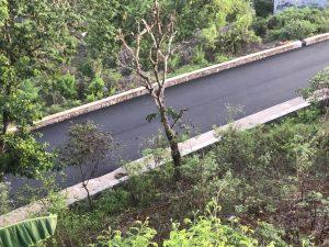 Mamoudzou : la route de la rampe SOGEA a été refaite cette nuit