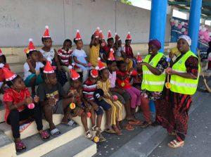 Les élèves de Pamandzi ont célébré les fêtes de fin d'année avant le départ en vacances