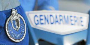 PHOTO FRANCOIS DESTOC / LE TELEGRAMME LANDEVANT (56) : gendarme gendarmerie motard moto escadron départemental de sécurité routière de Vannes contrôle vitesse