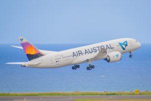 air austral 787 volcan