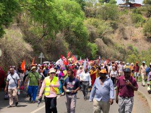 Un mouvement de grève qui se poursuit à l'échelle  nationale mais aussi à Mayotte