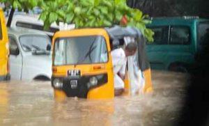 Mahajanga sous les eaux après des jours de très fortes précipitations