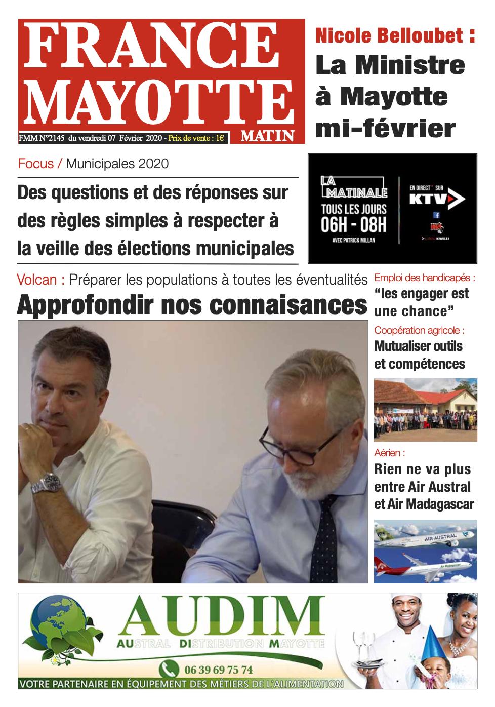 France Mayotte Vendredi 7 février 2020