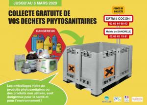 Collecter les déchets phytosanitaires de l'agriculture