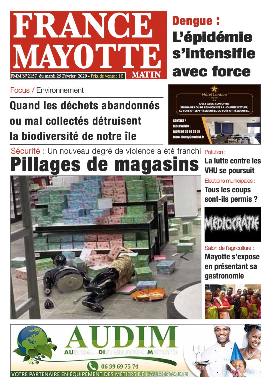 France Mayotte Mardi 25 février 2020