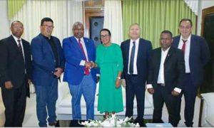 Des liens qui se retendent de manière significative avec Madagascar