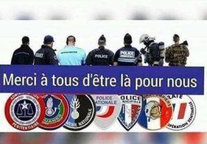 La population intervient pour venir en aide aux gendarmes agressés