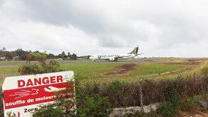 Dernier vol pour Paris annulé et fermeture ordonnée de l'aéroport