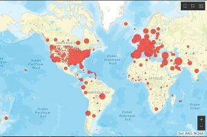 De rares pays ne comptent encore aucun cas de coronavirus dans le monde