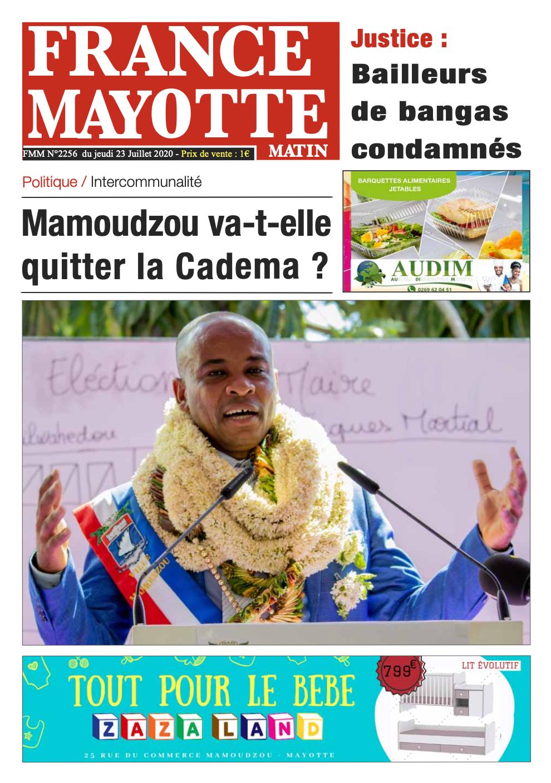 France Mayotte Jeudi 23 juillet 2020