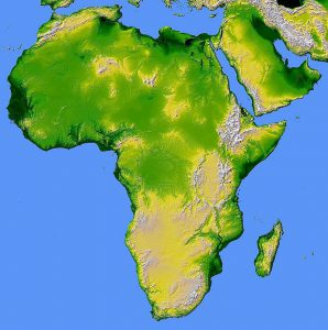 africa-map-relief-land