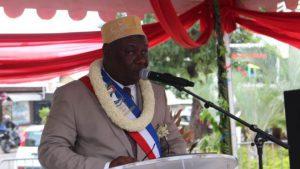 Mohamed Majani, Maire de Mamoudzou dit au revoir
