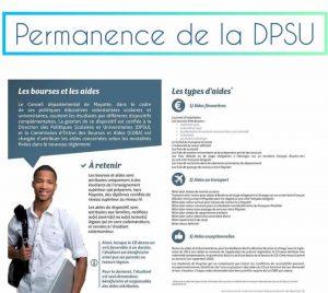 Une permanence de la DPSU se tiendra à la MJC de Mangajou