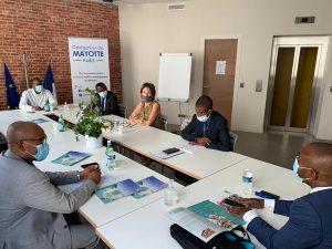 Rencontre à Paris entre le sénateur Thani et le maire de Mamoudzou
