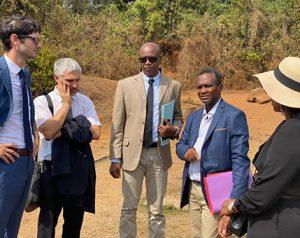 Une délégation du ministère de l'Outre-Mer au chevet de l'eau
