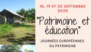 Les Journées Européennes du Patrimoine à Chirongui