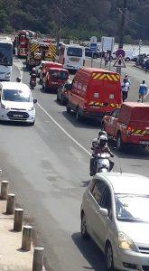 Convoi pompiers