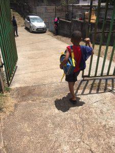 Ecole bloquée