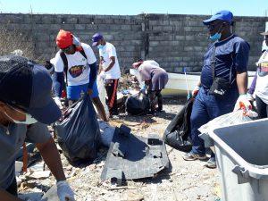 15,5 tonnes de déchets ramassés en une demie journée