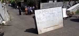 Les habitants de Bambo Est disent non à la prostitution