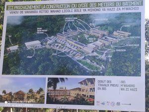 Bientôt le lancement du chantier du lycée de Longoni