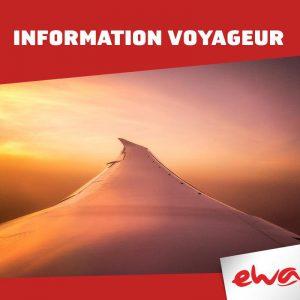 Très mauvaise nouvelle pour les candidats au voyage avec Ewa Air vers Nosy Bé