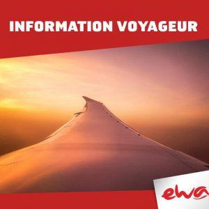 Revirement de situation et bonne nouvelle pour Ewa Air
