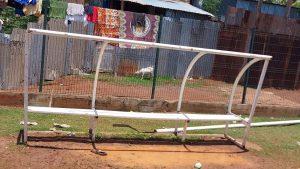 Dégradations de matériels sportifs à Koungou
