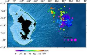 Toujours pas de nom de baptême pour le volcan sous-marin