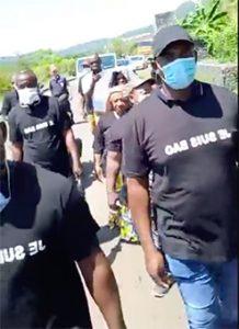 75 jours de grève et marche en mémoire de Bao mais aussi l'égalité des droits